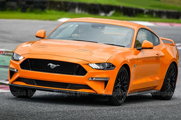 Ford Mustang 5.0 V8 GT facelift (2018) review