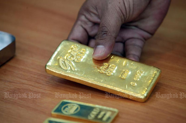 Gold prices fell B50 to B18,550
