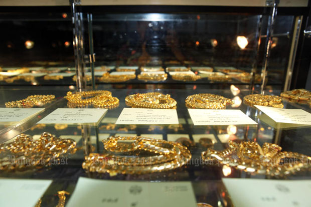 Gold prices up B100 to B18,650