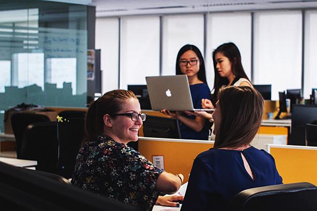 Survey: Women upbeat on tech field