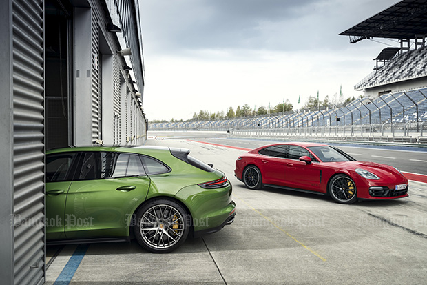 Porsche gives GTS spice to Panamera and Sport Turismo