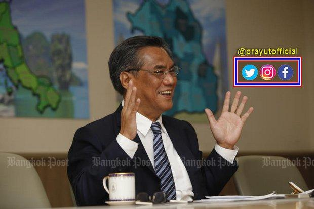 PM's social media blitz 'not a poll ploy' | Bangkok Post: news