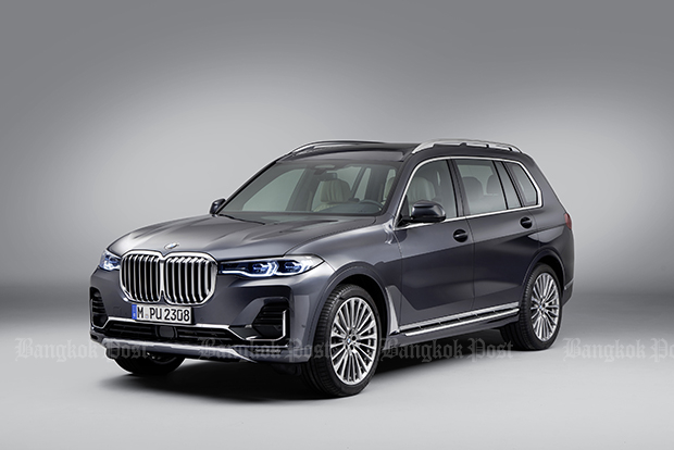 BMW reveals production-ready X7 SUV