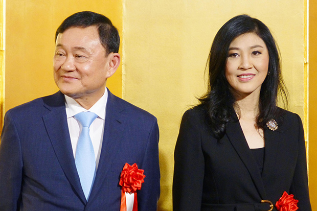 Thaksin confident pro-democracy forces would win election