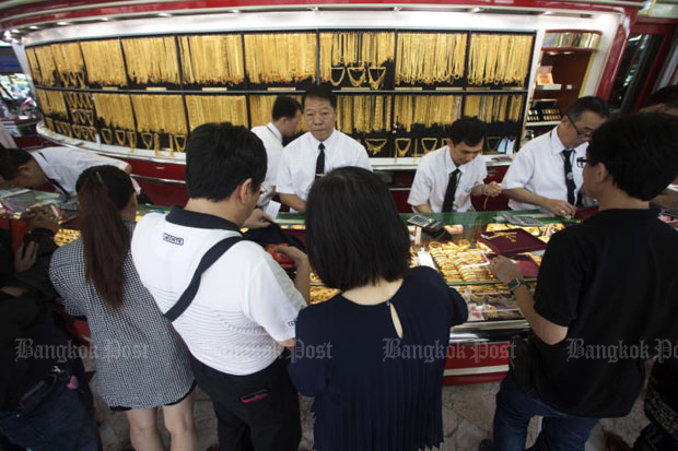 Gold prices up B50 to B18,950