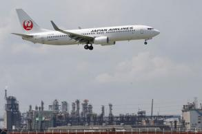 Japan Airlines' traffic tumbles in wake of natural disasters