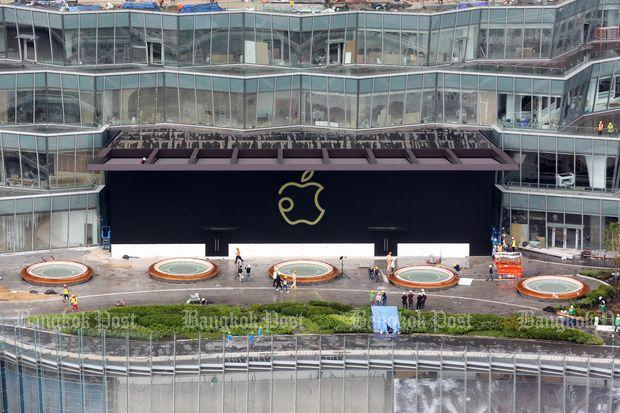 Apple Store opens in Bangkok next month