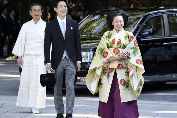 Japanese Princess Ayako marries commoner at shrine ceremony