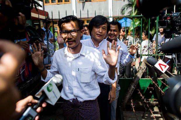Incitement' charges dropped in Myanmar | Bangkok Post: news