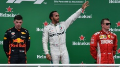 Verstappen threatens to 'punch' Ocon as Hamilton wins Brazilian GP | Bangkok Post: news