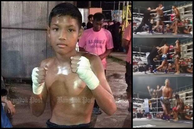 Muay Thai teen dies