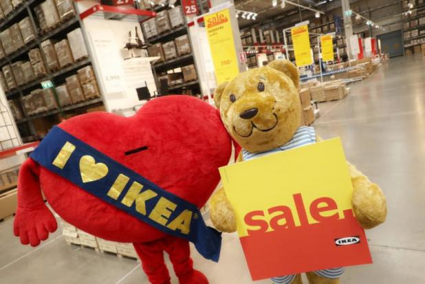 Ikea is cutting HUNDREDS of jobs in the UK