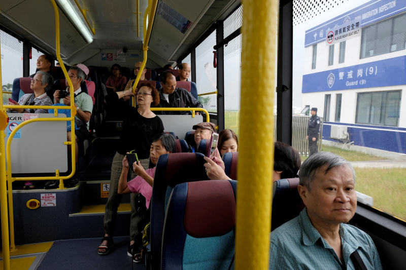 Visitors on HK-Macau bridge drop after cooling measures