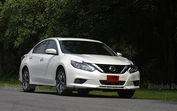 Nissan Teana 2.0 XL Navi facelift (2018) review