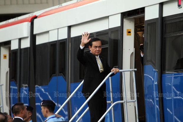 Green Line reaches Samut Prakan