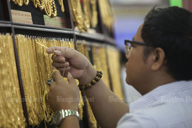 Gold prices up B100 to B19,400