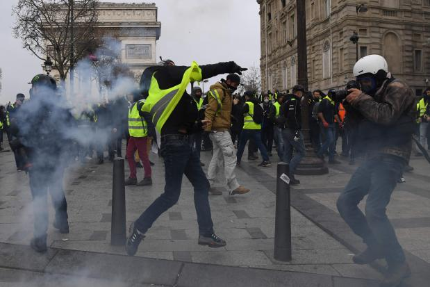 Paris on lockdown for gilets jaunes protests