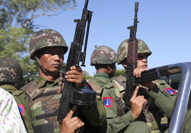 Myanmar activists jailed for 'defaming' military