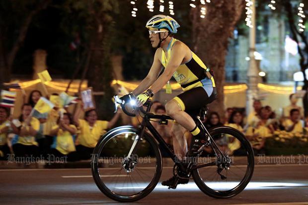King inaugurates Bike Un Ai Rak event | Bangkok Post: news
