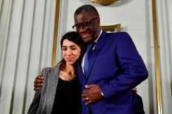 Nobel peace prize shines light on rape in conflict   Bangkok Post: news