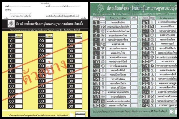 EC downplays furore over ballot papers | Bangkok Post: news