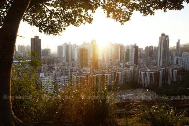 Temperatures in Hong Kong dip to as low as 7.9 degrees Celsius | Bangkok Post: news