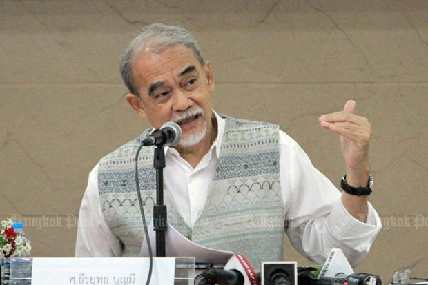 Thirayuth: Regime has 'plot to cling to power'