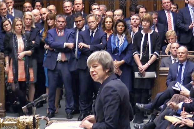 May calls off MPs' vote on her Brexit deal