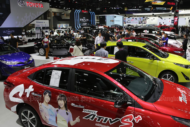Motor Expo bookings up 10%, orders worth B56bn