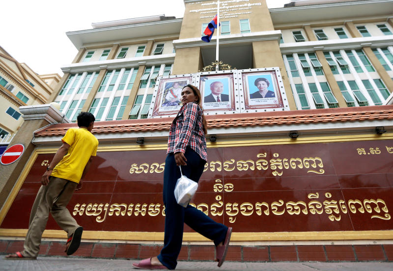 Cambodia union leaders convicted over protests
