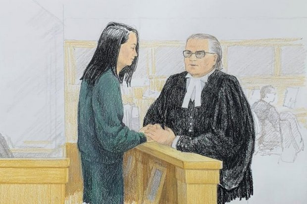 Canadian detained in China as Huawei case continues