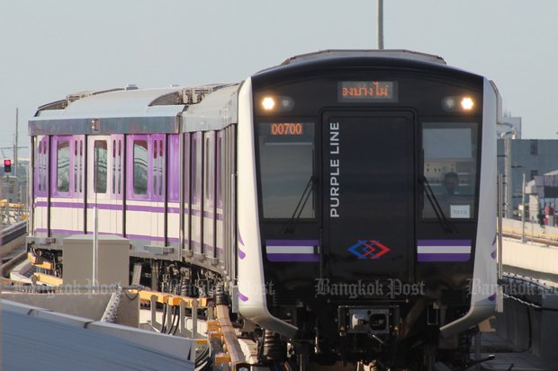 Purple Line, Phuket light rail among projects up for PPP