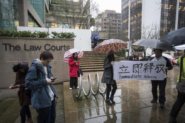 Huawei CFO gets bail for $7.5 million
