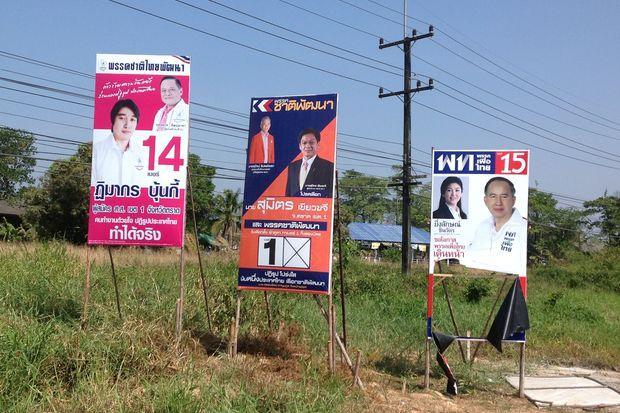 Campaign poster rules ban familiar faces | Bangkok Post: news