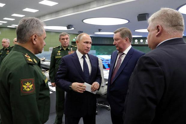Image result for Putin says Russia is ready to deploy new hypersonic nuclear missile