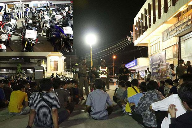 Dozens of street racers, promoter arrested | Bangkok Post: news