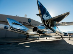 Virgin Galactic takes crew of three to altitude of 55 miles | Bangkok Post: news