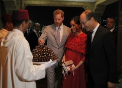 Harry and Meghan in Morocco on last official trip before birth | Bangkok Post: news