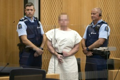 New Zealand mosque attack suspect charged with murder | Bangkok Post: news