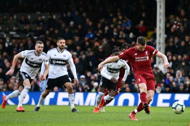 Liverpool go top with win over Fulham | Bangkok Post: news