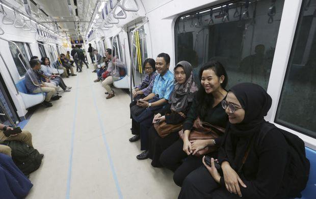 Subway first step in easing Jakarta's carmageddon | Bangkok Post: business