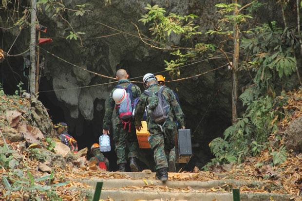 Tham Luang cave closed for retrieval of rescue gear