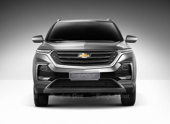 Chevrolet previews new Captiva for Thailand | Bangkok Post: auto