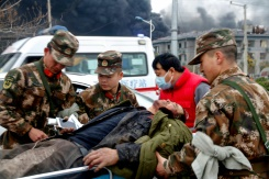 Death toll in China chemical plant blast jumps to 44 | Bangkok Post: news