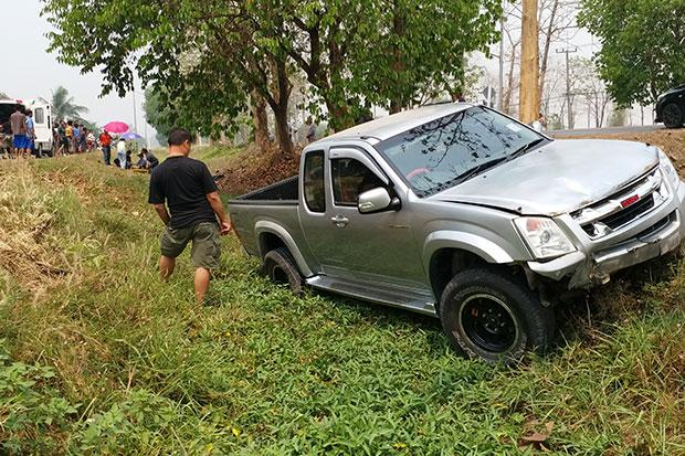 Truck kills elderly seed collectors who had just voted | Bangkok Post: news