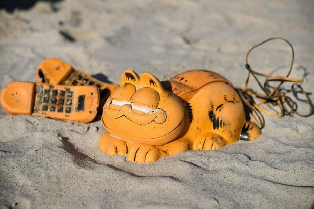 Image result for Garfield beach phone mystery solved after 30 years