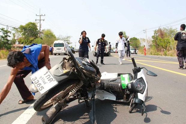 174 die, 1,728 hurt on roads in first 3 days of Songkran
