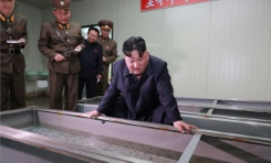 N.Korea's Kim oversees new 'guided weapon' test: state media | Bangkok Post: news