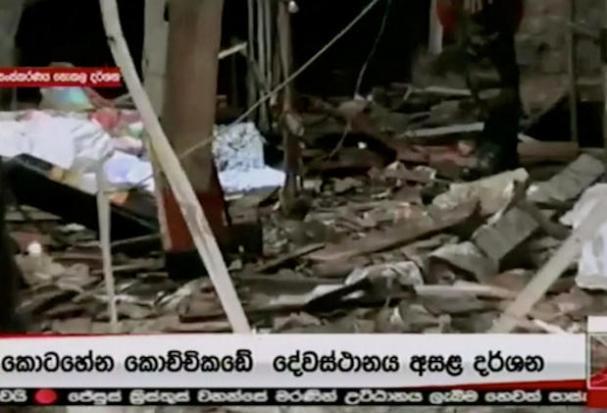 Hundreds hurt as blasts hit Sri Lanka churches, hotels | Bangkok Post: news