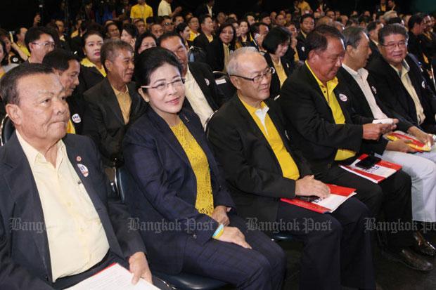 Pheu Thai dismisses leadership reshuffle rumour | Bangkok Post: news